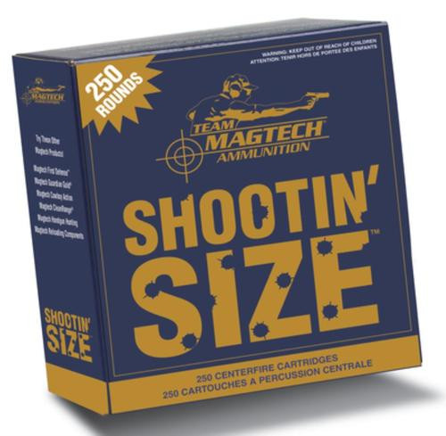 Magtech Shootin'' Size .357 Magnum 158gr, Semi-Jacketed Soft Point Flat 250rd Box