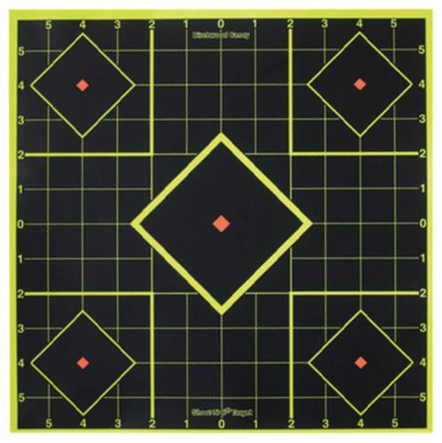 "Birchwood Casey Shoot-N-C Targets 8"" Sight-In Target, 15 Targets, 36 Pasters"