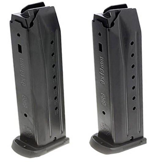 Ruger SR9/SR9C/9E/PC9 Magazine 2 Pack 9mm, Black, 17rd