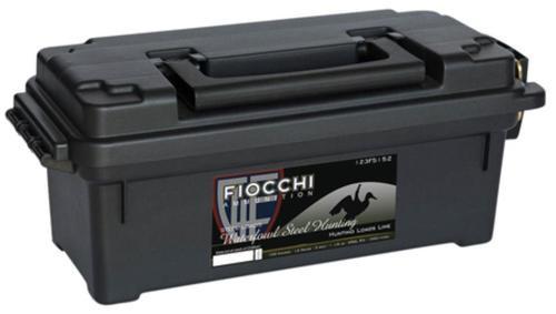 "Fiocchi Shooting Dynamics 12 Ga, 3"", 1-1/5 oz, 2 Shot, Plano Ammo Box, 100rd/Case (4 Boxes of 25rd)"