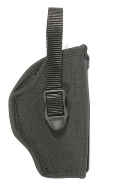 Blackhawk! Hip Holster Black Left Hand For 3-4 Inch Medium And Large Double Action Revolvers