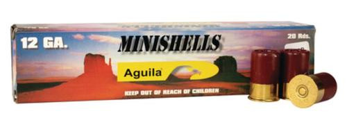 "Aguila Ammunition Minishell 12 Ga, 1.75"", 1175 FPS, .625 Ounce, 7.5 Shot, 20rd Box"