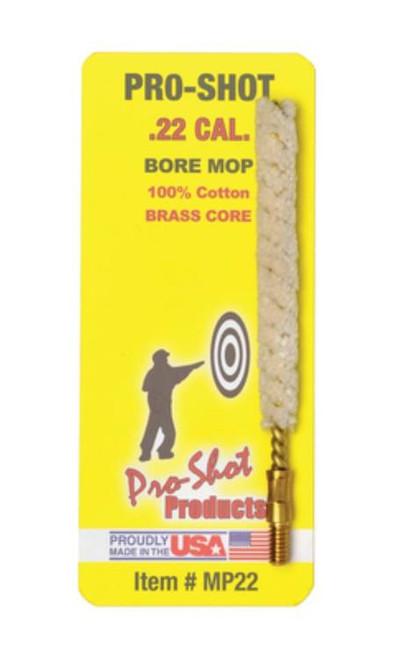 Pro-Shot Bore Mop .22 Cal Cotton Swab