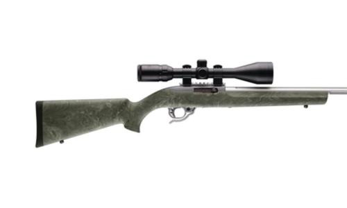 Hogue Overmold Rifle Stocks Ruger 10/22 Bull Barrel Ghillie Green