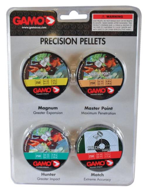 Gamo Precision Pellet Combination Pack .177 Caliber 1000 Count