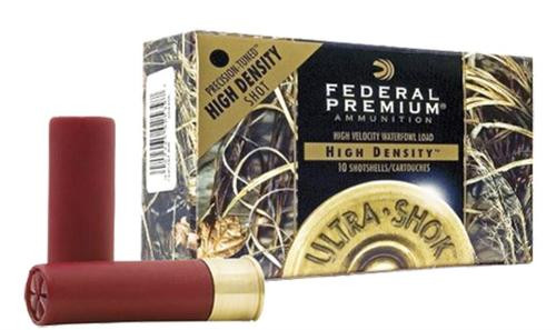 "Federal Premium Hi-Density Waterfowl 12 Ga, 3.5"", 1-5/8oz, 2 Shot, 10rd/Box, 10/Case"