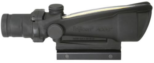 Trijicon ACOG 3.5x35 Scope Dual Illuminated Amber Crosshair .308 Ballistic Reticle, TA51 Mount