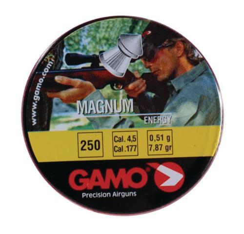 Gamo Flat Nose Pellets Magnum .177