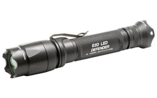Surefire E2DU Black, 5/500 Lumens LED, Alum Black