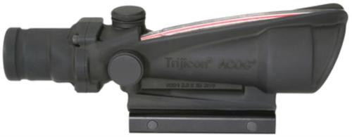 Trijicon ACOG 3.5x35 Scope Dual Illuminated Red Chevron .308 Ballistic Reticle, TA51 Mount