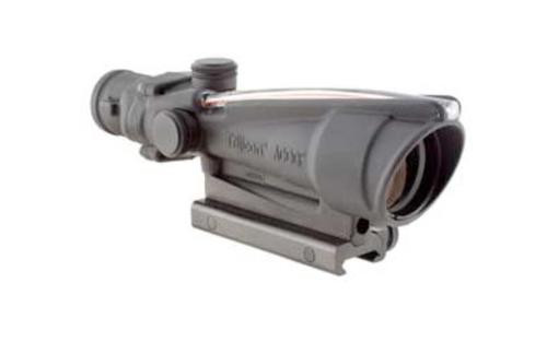 Trijicon ACOG 3.5x35 Scope Dual Illuminated Red Crosshair .223 Ballistic Reticle, TA51 Mount