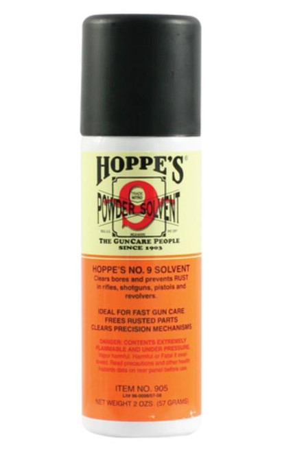 Hoppe's No. 9 Synthetic Blend Solvent 2 Ounce Aerosol