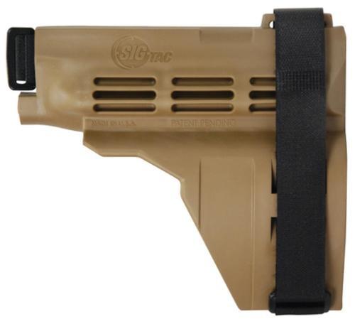 Sig SB15 Pistol Stabilizing Brace Kit With Buffer Tube Flat Dark Earth