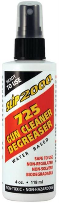 Slip 2000 725 Gun Cleaner/Degreaser 4oz Spray Bottle