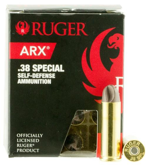 Ruger ARX 38 Special 77 gr, 20/ Box