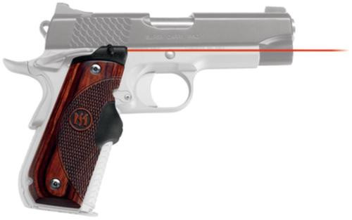 Crimson Trace Master Series 1911, Most Roundheel 1911 Models Rosewood, Red