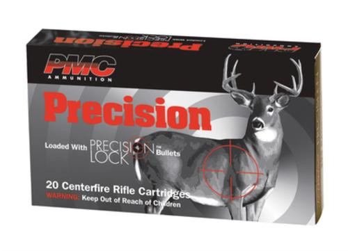 PMC AMMUNITION Pmc Silver Line Precision Hunting 300 Win Mag 150 Grain Boattail Soft Point Interlock