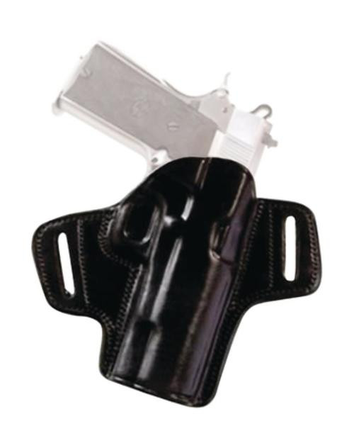 Tagua Gunleather Open Top Leather Belt Holster Sig Sauer P220/P226 Right Hand Black