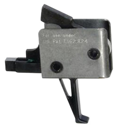 CMC Triggers AR-15/AR-10 Single Stage Tactical Flat Trigger Group, Small Pin