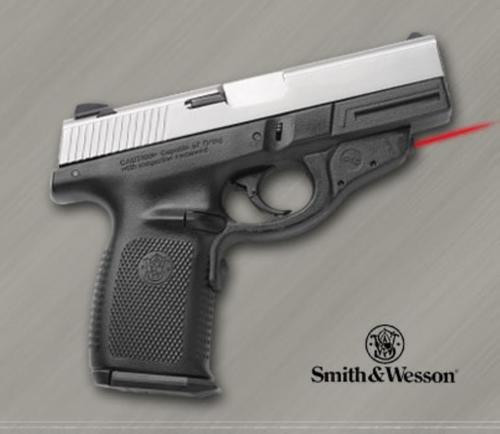 Crimson Trace Lasergrip Polymer, Rubber Overmold, Smith & Wesson Sigma