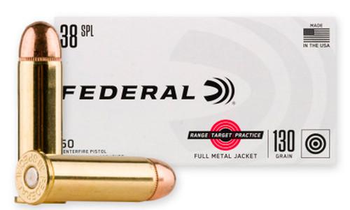 Federal RTP .38 Special, 130 Gr, FMJ, 50rd Box