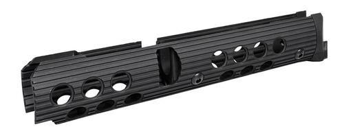 "Troy AK-47 Extended Handguard Bottom Rail Short 10"" Alum Black"