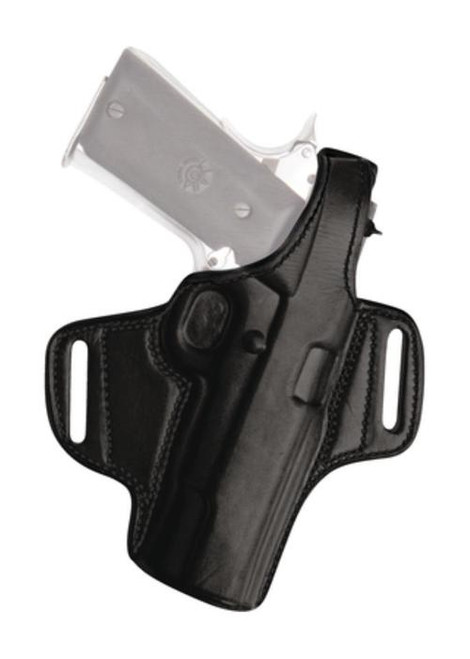 Tagua Gunleather Thumb Break Leather Belt Holster For Smith & Wesson J Frame 2.1 Inch Right Hand Black