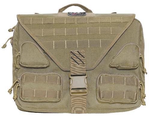 Goutdoor Tactical Briefcase 1000D Nylon, Teflon Coating Tan