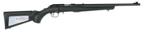 """Ruger American Compact Rifle .22 Mag 18"""" Threaded Barrel, Blue Finish"""