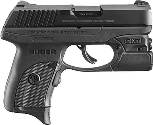 "Ruger LC9S Pro 9mm, 3.1"", 7rd, Crimson Trace Laser"