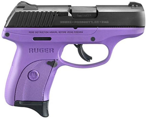 "Ruger LC9S Bl/Purple Special Edition, 9MM, 3"" Barrel, 7 Rd Mag"