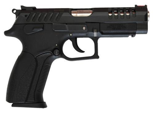 "Grand Power K100 X-Trim SA/DA 9mm 4.3"" Barrel, Black Poly Grip Black, 15rd"