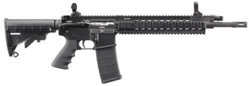 """Ruger SR556 C AR-15 5.56/2.23 16"""", Black 30rd Mag"""