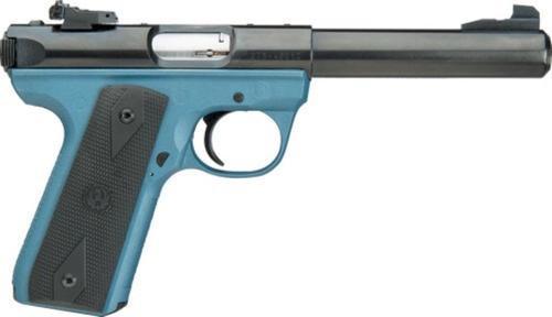 "Ruger MKIII Target, .22LR, 4"", Blue Titanium Finish"