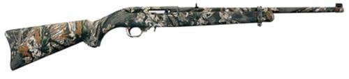 "Ruger 10/22 Carbine, 18.5"", Full Mossy Oak Break Up Camo on Stock and Barrel"