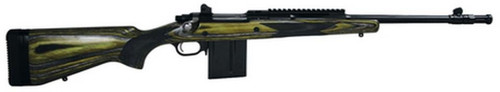 Ruger Gunsite Scout Rifle, 308, Green/Black Laminate Stock,10 Round Mag