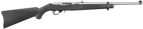 """Ruger 10/22 Takedown Rifle, 18.5"""" Barrrel SS, Soft Carry Case, 10rd Mag"""