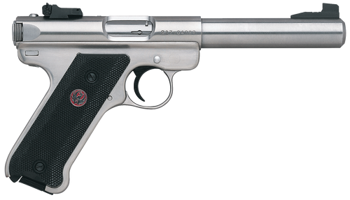 "Ruger Mark III 22LR, 5.5"" Stainless Steel"