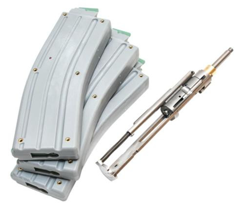 CMMG 22LR AR Converstion Kit - Bravo 22LR Stainless Steel Construction Three (3) 10rd Magazine Gray Finish
