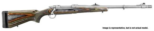"""Ruger Guide Gun, 300 RCM Ruger Compact Magnum, 20"""", SS, Laminated Stock"""