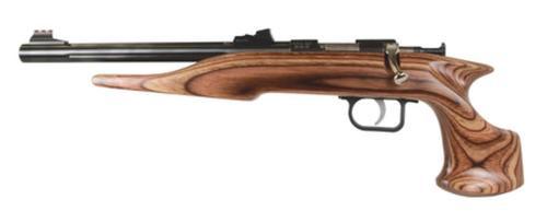 Chipmunk Silhouette Hunter 22LR 10.5 Inch Barrel Brown Laminate Stock TruGlo Sights Single Shot