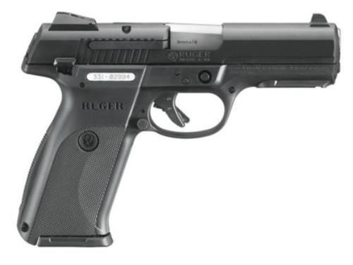 """Ruger SR9B Pistol, Black Alloy Steel Slide, 4.1"""", 17 Rd Mag"""