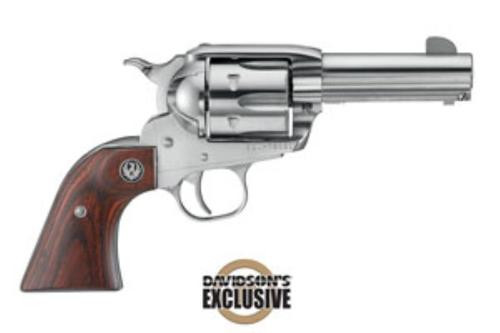 "Ruger New Vaquero Montado Limited Edition 45 Colt, 3.75"" Barrel, Wood Grips"