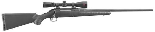 "Ruger American 7mm-08 Rem 22"" Barrel,, Redfield Scope Black Composite Stock Black, 4rd"