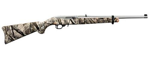 Ruger 10/22 .22LR, Mossy Oak Camo, Stainless Steel