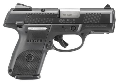 Ruger SR40C Pistol, Black, 9 Round Mag, For Compliant States