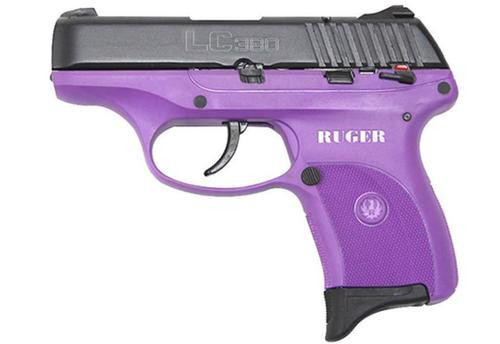 Ruger LC380 Lady Lilac Purple .380 ACP, 7rd
