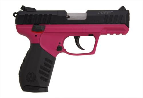 Ruger SR22 .22LR Black/Raspberry