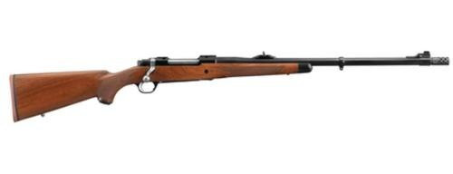 """Ruger M77 Hawkeye African .300 Win Mag 23"""" Barrel Satin Blue Finish Removable Muzzle Brake American Walnut Stock 3 Round"""