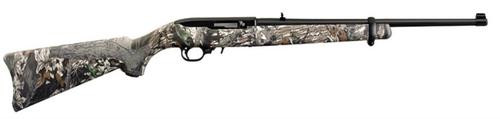 "Ruger 10/22 Carbine .22,18.5"", Mossy Oak Break Up Stock, Blue Barrel"